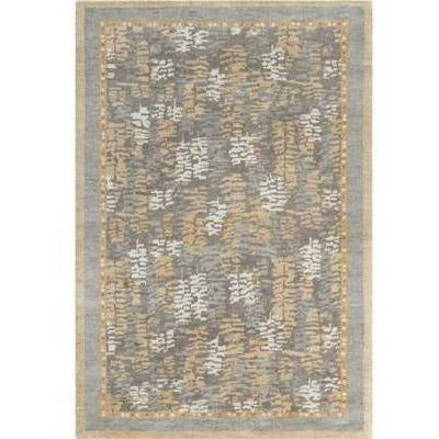Company C Bracken 100% Wool Hand Knotted Area Rug, Camel