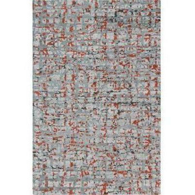 Company C Cityscape 100% Wool Hand Knotted Area Rug, Gray
