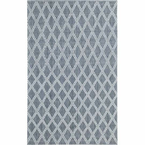 Company C Harlequin Hand Woven Contemporary Rug-Rugs-Company C-Gray-2' x 3'-Heaven's Gate Home
