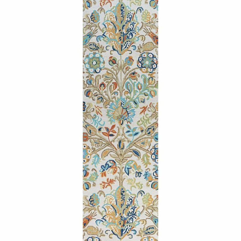 Company C Acacia Hand-tufted Wool Rug, Multi-Rugs-Company C-3' x 8' Runner-Heaven's Gate Home