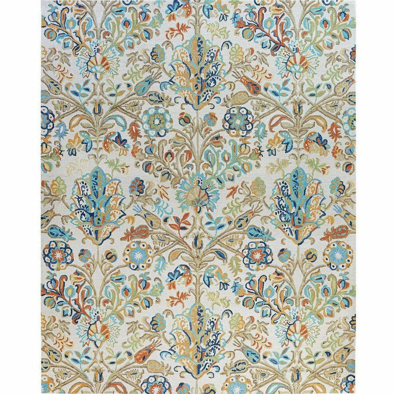 Company C Acacia Hand-tufted Wool Rug, Multi-Rugs-Company C-Heaven's Gate Home