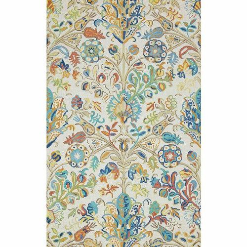 Company C Acacia Hand-tufted Wool Rug, Multi-Rugs-Company C-Heaven's Gate Home, LLC