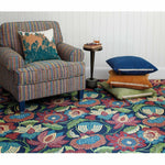 Company C Tasha 100% Wool Contemporary Hand-hooked Rug, Multi-Rugs-Company C-Heaven's Gate Home, LLC
