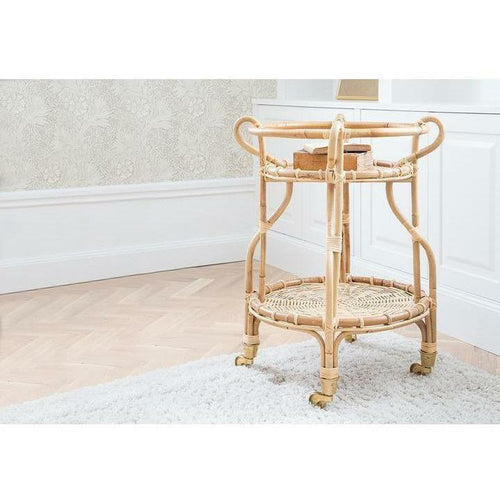 Sika-Design Icons Fratellino Trolley, Indoor-Bar Carts-Sika Design-Natural-Heaven's Gate Home