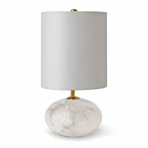 Regina Andrew Alabaster Mini Orb Lamp-Table Lamps-Regina Andrew-Heaven's Gate Home, LLC