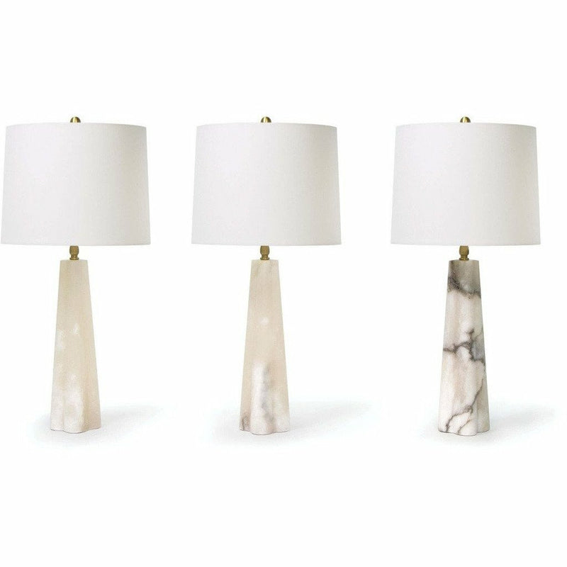 Regina Andrew Quatrefoil Alabaster Table Lamp Small-Table Lamps-Regina Andrew-Heaven's Gate Home, LLC