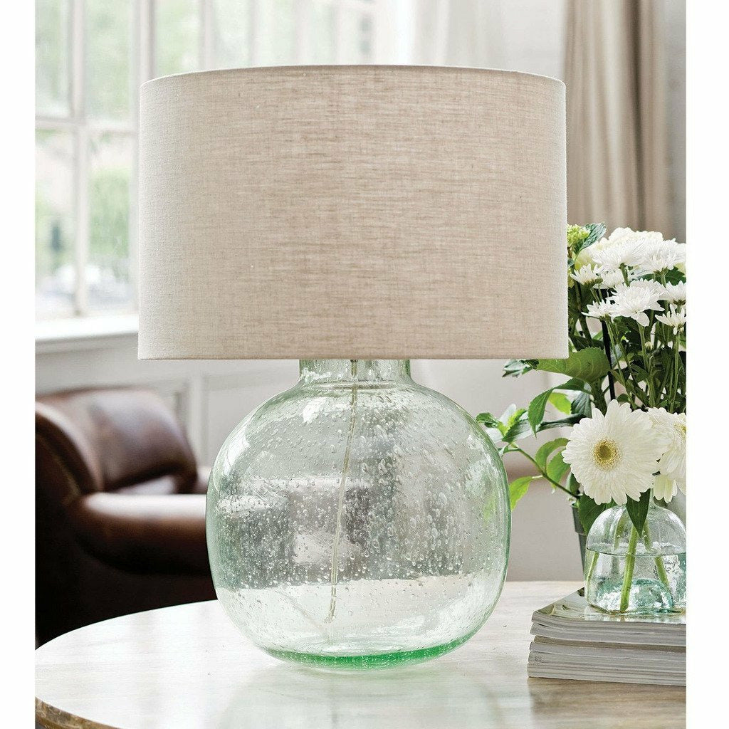 Regina Andrew Seeded Recycled Glass Table Lamp - Heaven's Gate Home & Garden