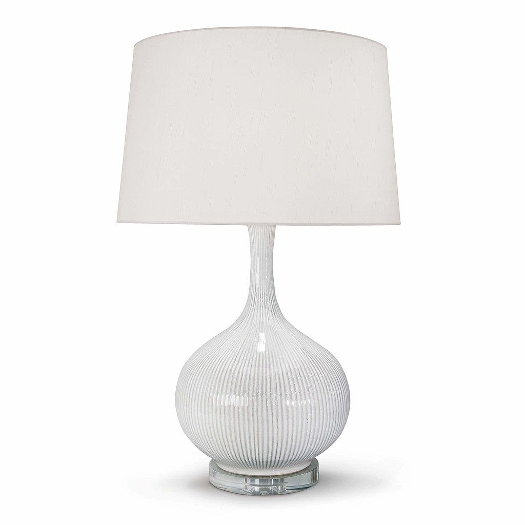 Regina Andrew Ivory Ceramic Table Lamp-Table Lamps-Regina Andrew-Heaven's Gate Home