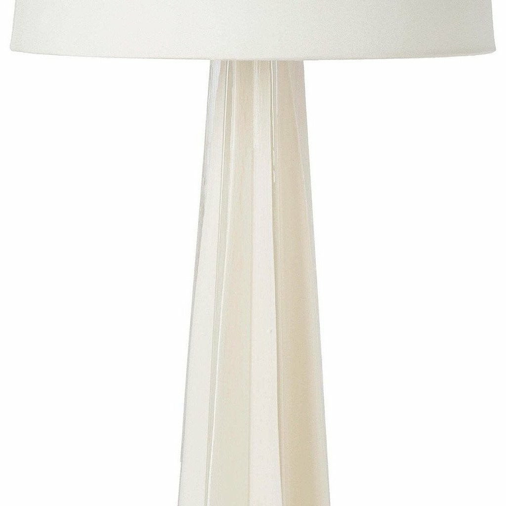 Regina Andrew Glass Star Table Lamp (White) - Heaven's Gate Home & Garden