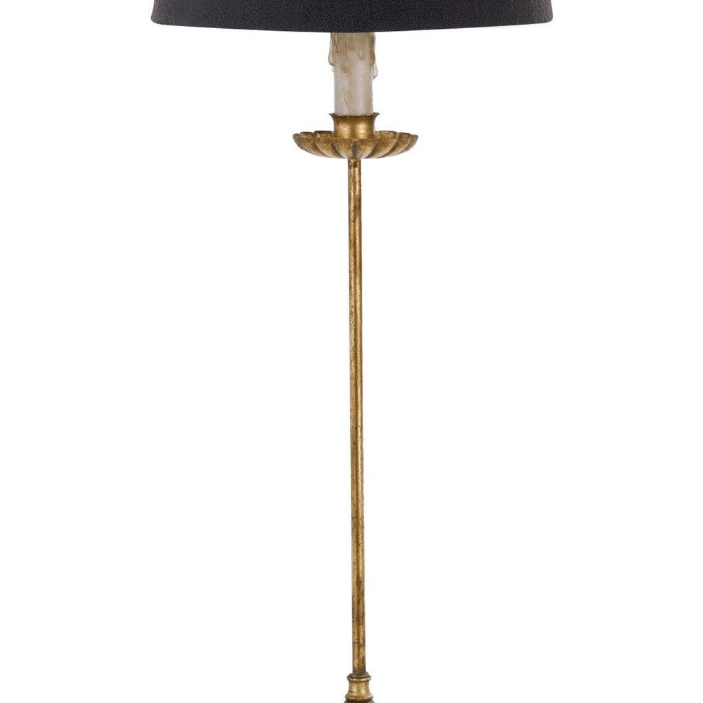 Regina Andrew Clove Stem Buffet Table Lamp With Black Shade
