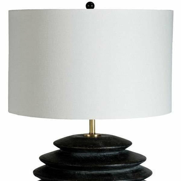 Regina Andrew Accordion Table Lamp Round (Ebony) - Heaven's Gate Home & Garden