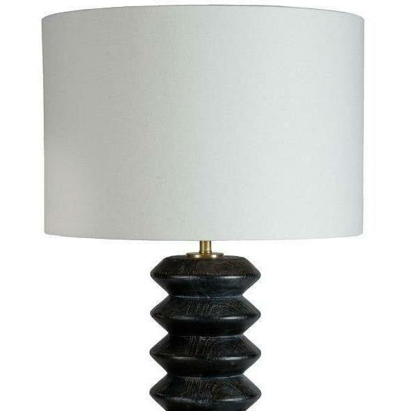 Coastal Living Accordion Ebony Table Lamp-Table Lamps-Coastal Living-Heaven's Gate Home