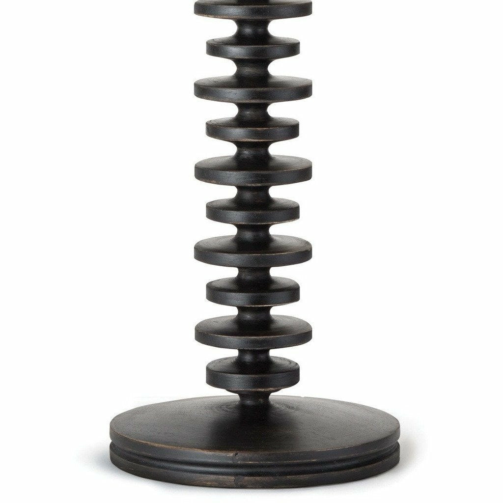Regina Andrew Fishbone Buffet Table Lamp (Ebony)-3