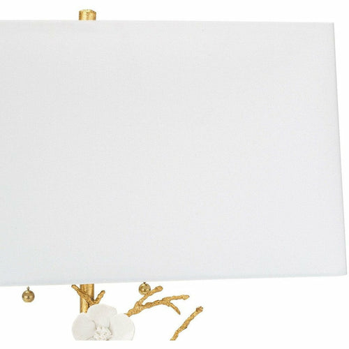 Regina Andrew Cherise Brass Horizontal Table Lamp, Gold