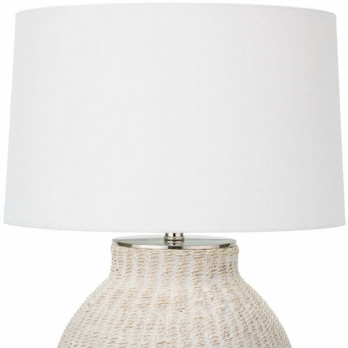 Regina Andrew Hobi Natural Table Lamp, White