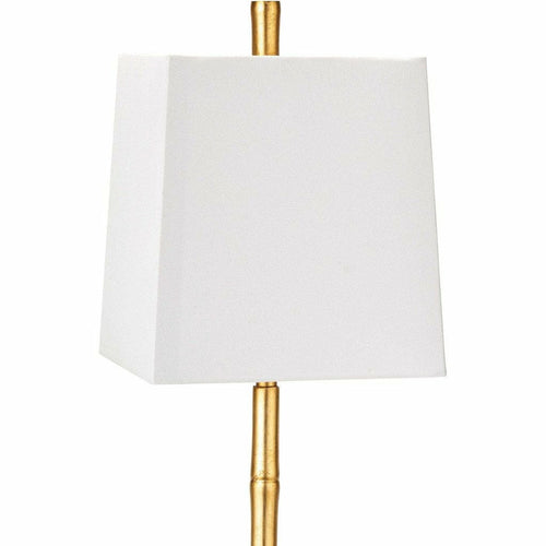 Regina Andrew Sarina Buffet Steel Table Lamp, Gold Leaf