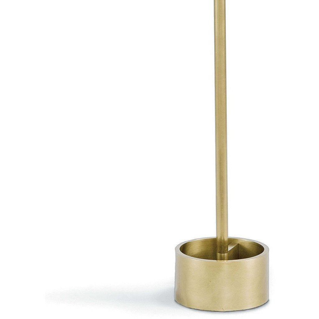 Regina Andrew Geo Rectangle Floor Lamp (Natural Brass) - Heaven's Gate Home & Garden