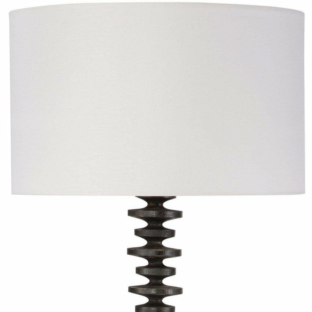Regina Andrew Fishbone Floor Lamp (Ebony)-4
