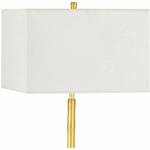 Regina Andrew Sarina Steel Floor Lamp, Gold Leaf