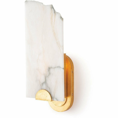 Regina Andrew Jonah Alabaster Sconce-Wall Sconces-Regina Andrew-Heaven's Gate Home