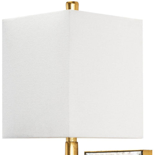 Regina Andrew Sarina Steel Wall Sconce, Gold Leaf