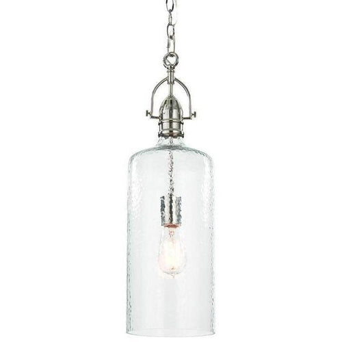 Regina Andrew Bar Pendant, Polished Nickel-Pendant Lamps-Regina Andrew-Heaven's Gate Home, LLC