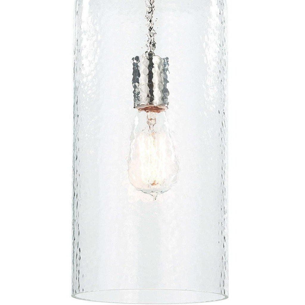 Regina Andrew Bar Pendant, Polished Nickel-Pendant Lamps-Regina Andrew-Heaven's Gate Home