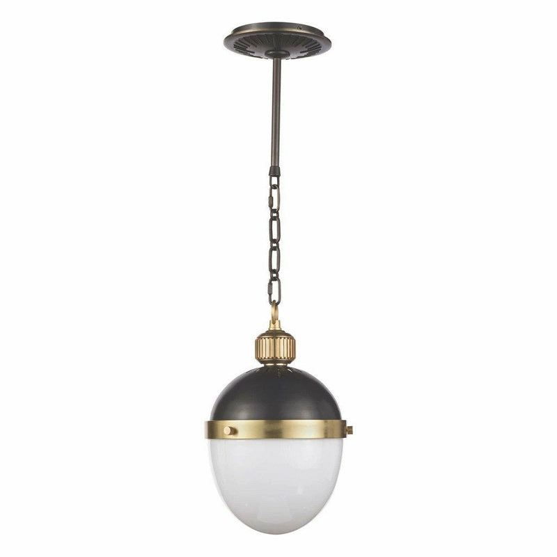 Regina Andrew Otis Pendant Small, Blackened and Natural Brass-Pendant Lamps-Regina Andrew-Heaven's Gate Home, LLC
