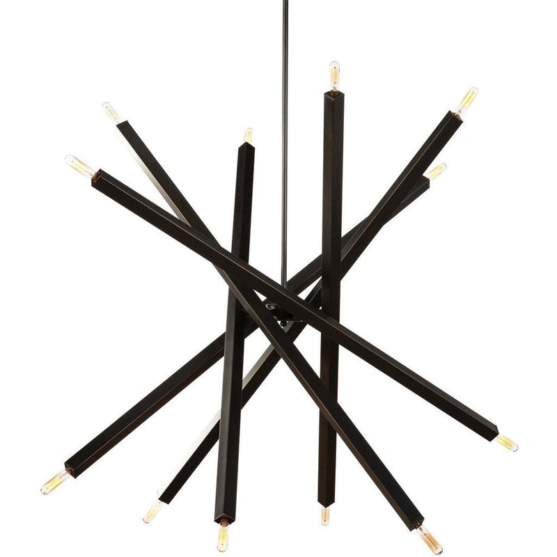 Regina Andrew Viper Chandelier, Oil Rubbed Bronze