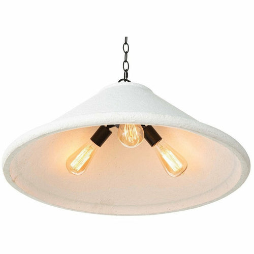 Regina Andrew Billie Concrete Pendant, Large, White