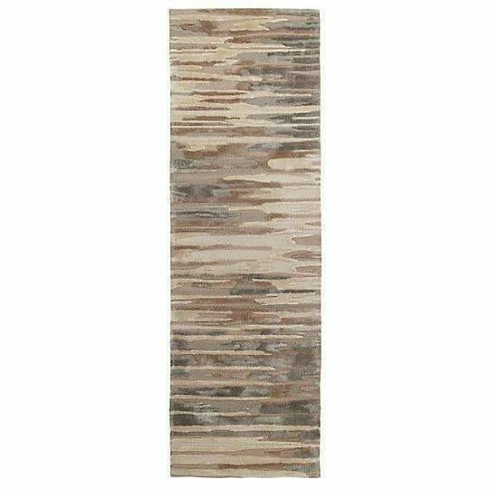 Company C Birch Hand-Tufted, Organic Striated Rug-Rugs-Company C-3' x 8' Runner-Heaven's Gate Home