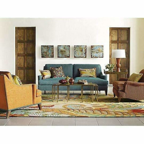 Company C Art & Soul Eclectic Wool Multi-Textural, Hand-Hooked Rug-Rugs-Company C-Heaven's Gate Home