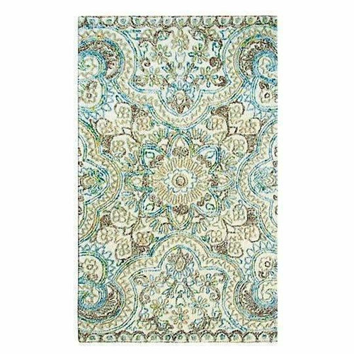 Company C Agra, Modern Hand-Tufted Tapestry Design Rug-Rugs-Company C-3' x 5'-Heaven's Gate Home