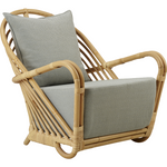 Sika-Design Icons Charlottenborg Chair w/ Cushion, Indoor-Lounge Chairs-Sika Design-Natural-Sunbrella Sailcloth Seagull Seat and Back Cushion-Heaven's Gate Home