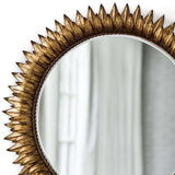 Regina Andrew Sun Flower Mirror Small (Antique Gold) - Heaven's Gate Home & Garden