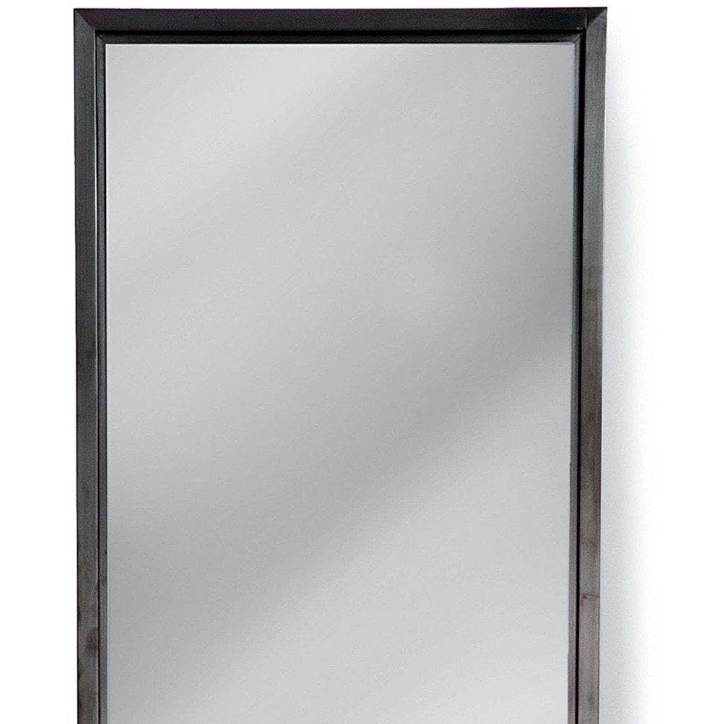 Regina Andrew Dressing Room Mirror (Steel) - Heaven's Gate Home & Garden