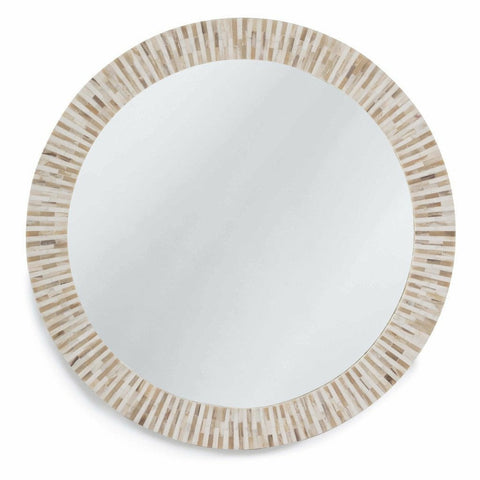 Regina Andrew Multitone Bone Mirror - Heaven's Gate Home & Garden