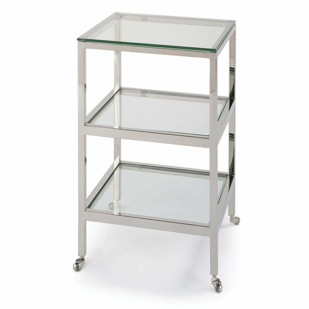 Regina Andrew Alister Side Table (Polished Nickel) - Heaven