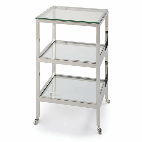Regina Andrew Alister Side Table (Polished Nickel)