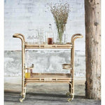 Sika-Design Originals Carlo Rattan Bar Table, Indoor-Bar Carts-Sika Design-Heaven's Gate Home