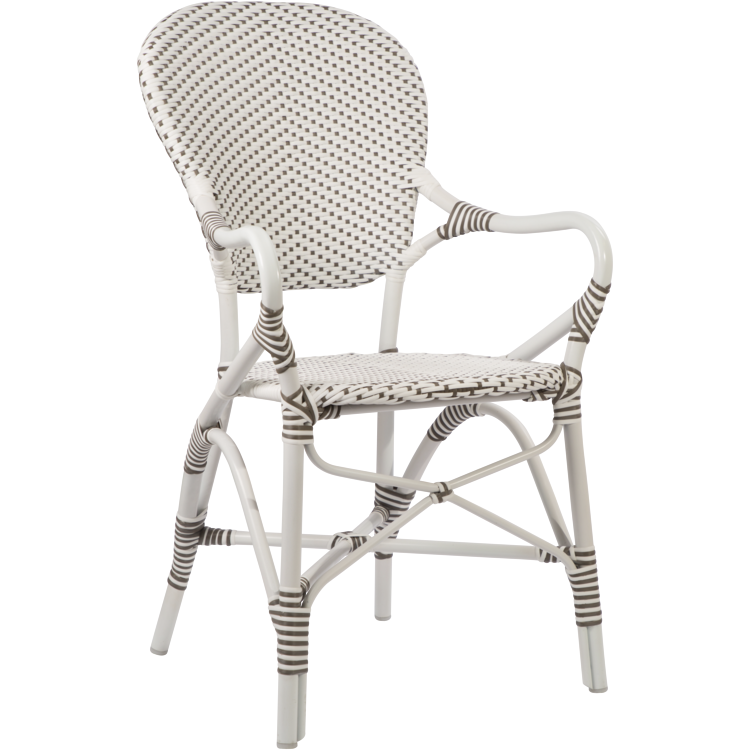 Sika-Design Alu Affaire Isabell Arm Chair - Heaven