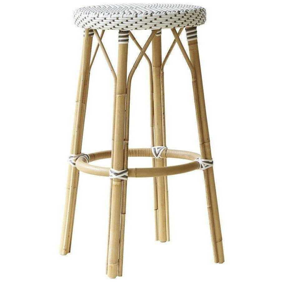 Sika-Design Affaire Simone Rattan Bar Stool, Stackable, Indoor/Covered Outdoor-Bar Stools-Sika Design-Heaven
