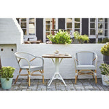Sika-Design Affaire Madeleine Bistro Arm Chair, Stackable, Indoor/Covered Outdoor-Dining Chairs-Sika Design-Heaven's Gate Home