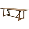 Sika-Design Teak George Dining Table, Outdoor-Dining Tables-Sika Design-Heaven's Gate Home, LLC