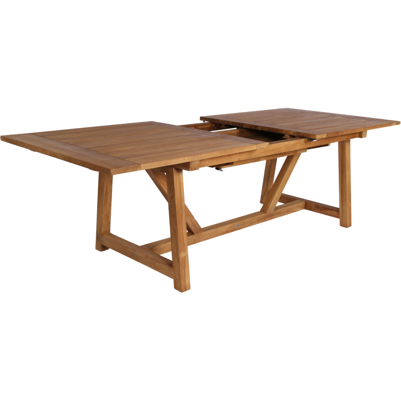 Sika-Design Teak George Dining Extension Table, Outdoor-Dining Tables-Sika Design-Heaven's Gate Home