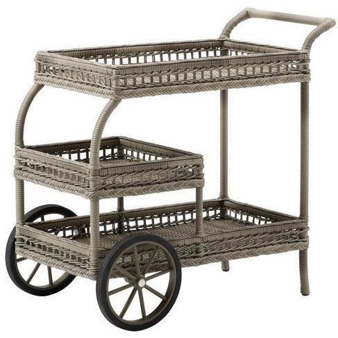 Sika-Design Georgia Garden James Trolley, Outdoor-Bar Carts-Sika Design-Antique-Heaven's Gate Home