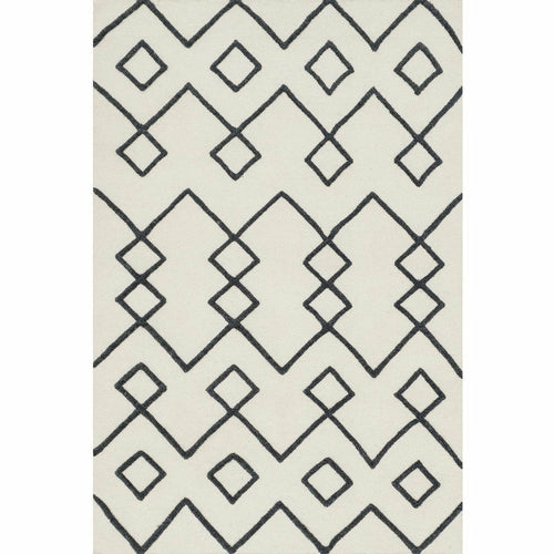 "Loloi Adler AW-04 Transitional Hand Woven Area Rug-Rugs-Loloi-Ivory-1'-6"" x 1'-6"" Sample-Heaven's Gate Home, LLC"