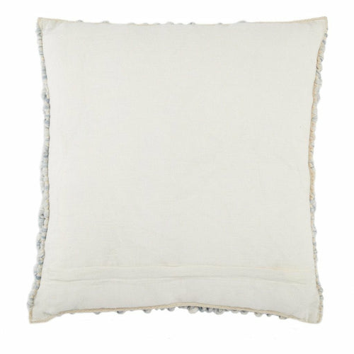 Jaipur Living Kaz Angora Light Blue Handmade Pillow
