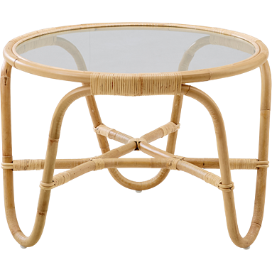 Sika-Design Icons Charlottenborg Table w/ Glass, Indoor-Tables-Sika Design-Natural-Heaven's Gate Home