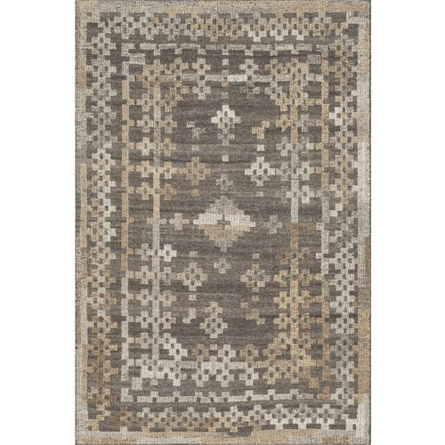 "Loloi Akina AK-01 Transitional Hand Woven Area Rug-Rugs-Loloi-Charcoal-1'-6"" x 1'-6"" Sample-Heaven's Gate Home, LLC"